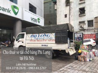 Dịch vụ taxi tải Phi Long tại phố Mạc Thái Tông
