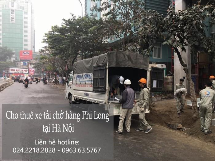 Dịch vụ taxi tải Phi Long tại phố Nghĩa Tân