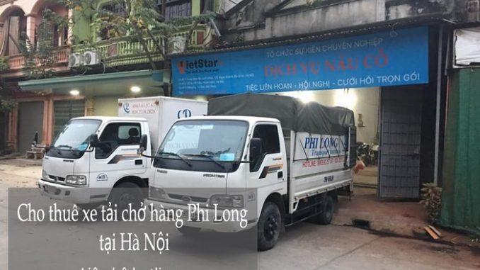 Dịch vụ taxi tải Phi Long tại phố Nguyễn Chánh