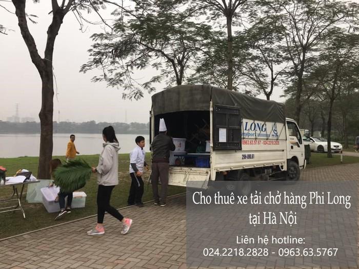 Dịch vụ taxi tải Phi Long tại phố Mạc Thái Tổ