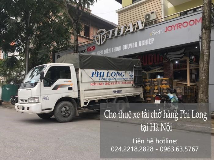 Dịch vụ taxi tải Phi Long tại phố Nguyễn Thị Định