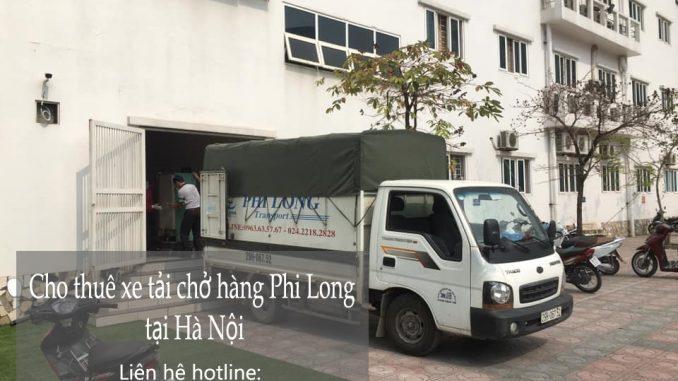 Dịch vụ taxi tải Phi Long tại phố Trung Kiên 2019