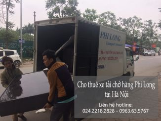 Taxi tải Phi Long tại phố Quần Ngựa