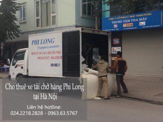 Taxi tải Phi Long tại phố Bảo Khánh