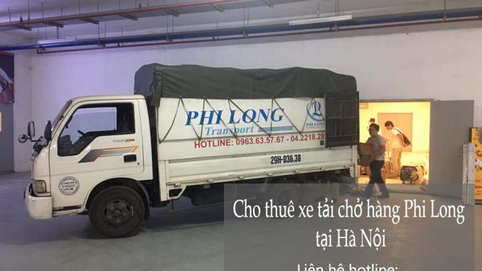 Dịch vụ taxi tải Phi Long tại phố Vũ Hữu Lợi