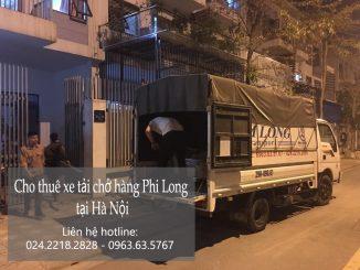 Taxi tải Phi Long tại phố Bắc Cầu