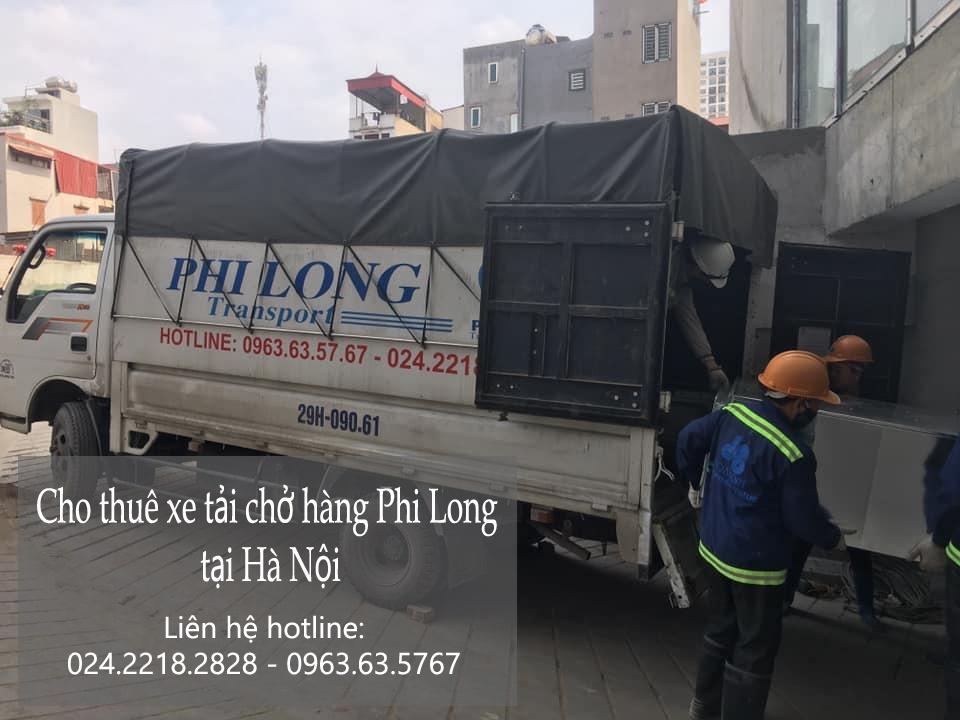 Dịch vụ taxi tải tại phố Đỗ Nhuận
