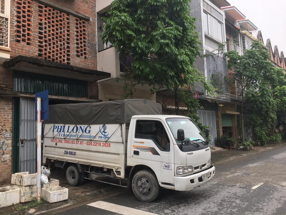 Taxi tải Phi Long tại phố Đống Mác