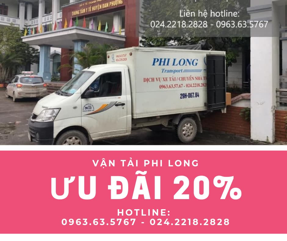 Dịch vụ taxi tải Phi Long tại phố Trần Nhật Duật