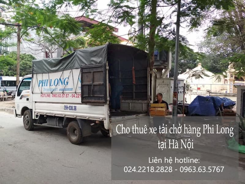 Dịch vụ taxi tải Phi Long tại phố Chùa Quỳnh