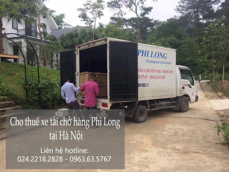 Dịch vụ taxi tải Phi Long tại phố Hàm Tử Quan