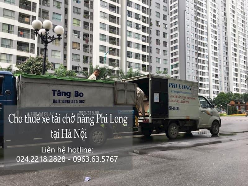 Phi Long taxi tải tại phố Bát Khối