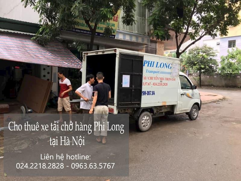 Dịch vụ taxi tải Phi Long tại phố Nguyễn Hoàng