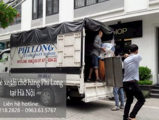 Dịch vụ taxi tải Phi Long tại phố Vệ Hồ