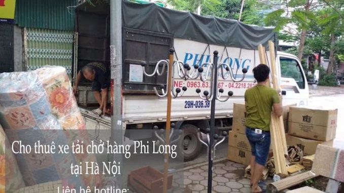 Taxi tải Phi Long tại phố Chu Huy Bân