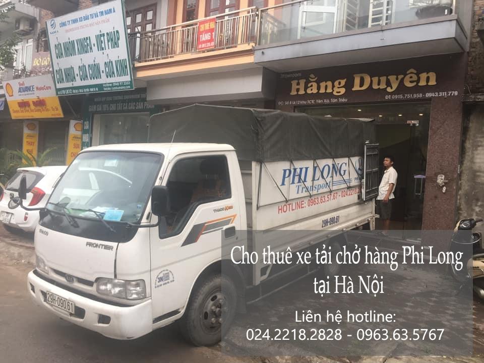 Dịch vụ taxi tải tại phố Nguyên Xá