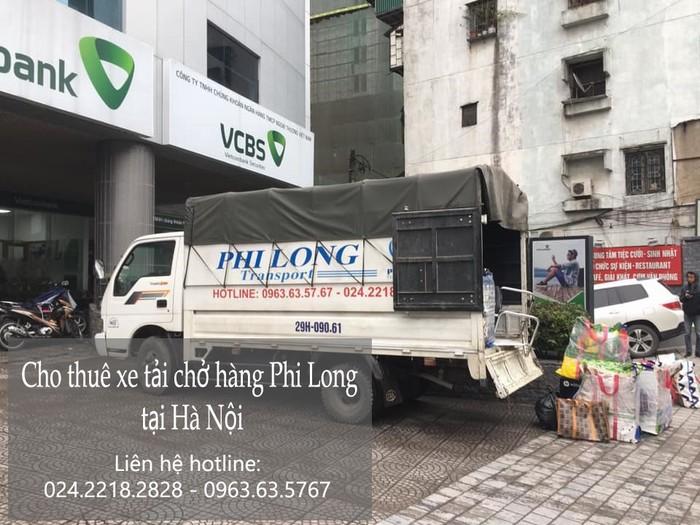 Taxi tải Phi Long tại phố Bát Khối