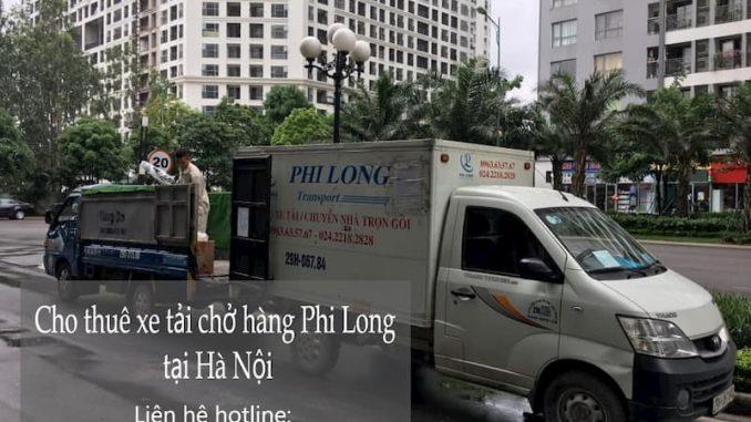 Dịch vụ taxi tải Phi Long tại phố Ngụy Như Kon Tum