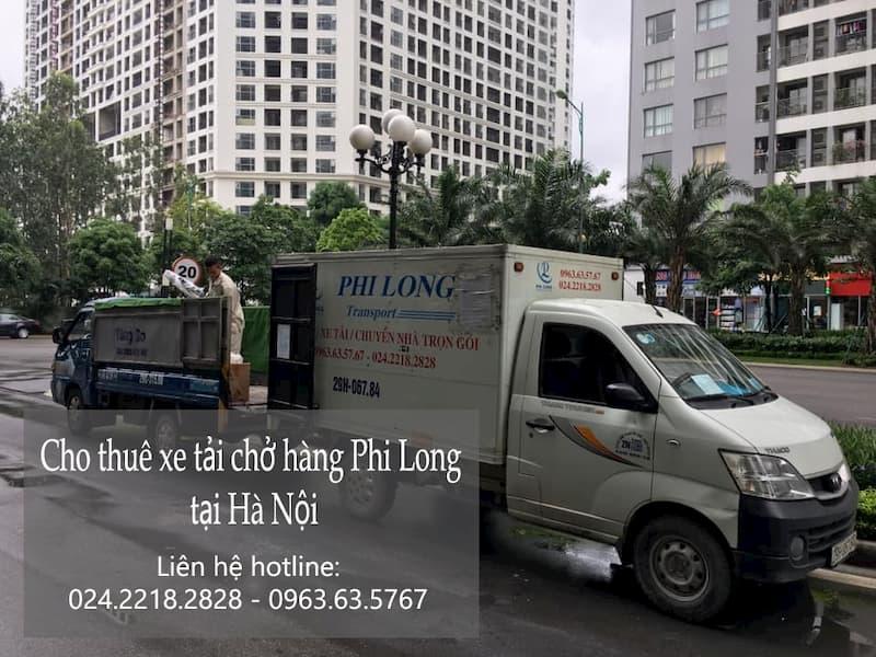 Taxi tải Phi Long tại phố Đức Giang