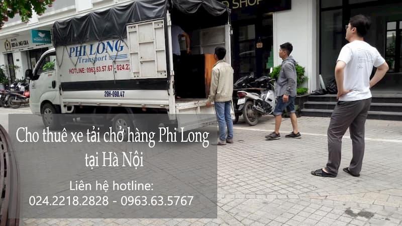 Taxi tải Phi Long tại phố Đàm Quang Trung