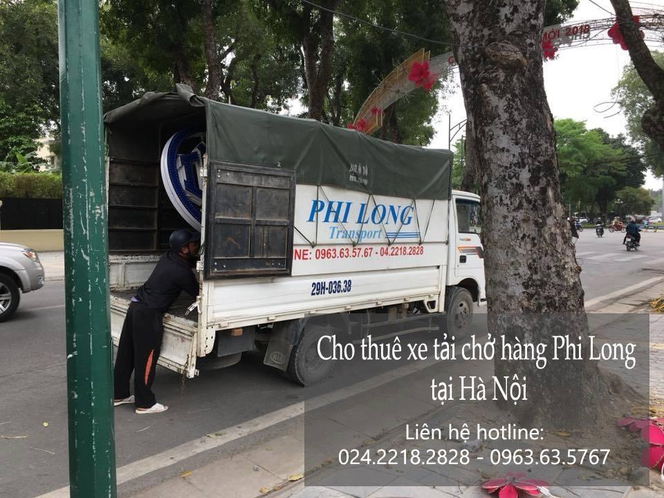 Taxi tải Phi Long tại phố Đào Văn Tập