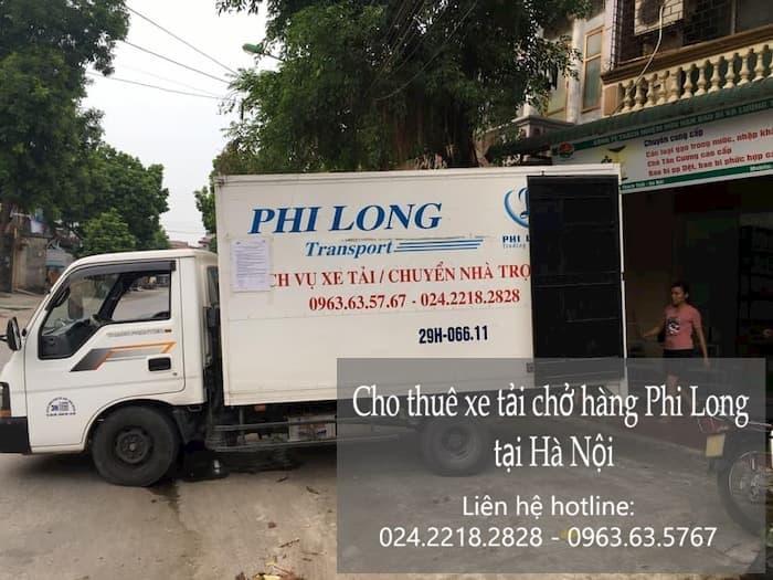 Dịch vụ taxi tải Phi Long tại phố Nguyễn Cảnh Dị
