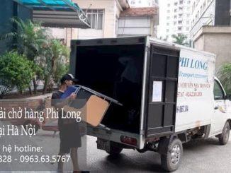 Dịch vụ taxi tải tại phố Nguyễn Công Thái