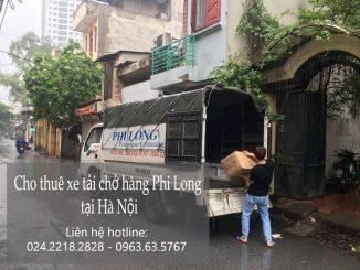 Dịch vụ taxi tải tại phố Trần Nguyên Đán