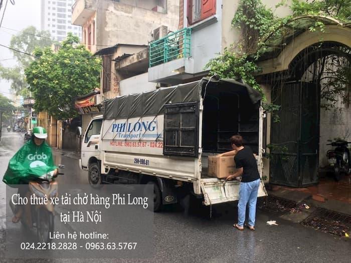Dịch vụ taxi tải Phi Long tại phố Đặng Trần Côn