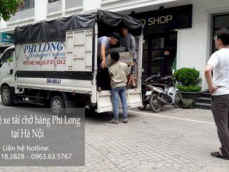 Dịch vụ chuyên nghiệp xe tải Phi Long tại phố Châu Văn Liêm