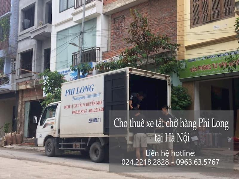 Vận tải giá rẻ Phi Long tại phố Đỗ Nhuận