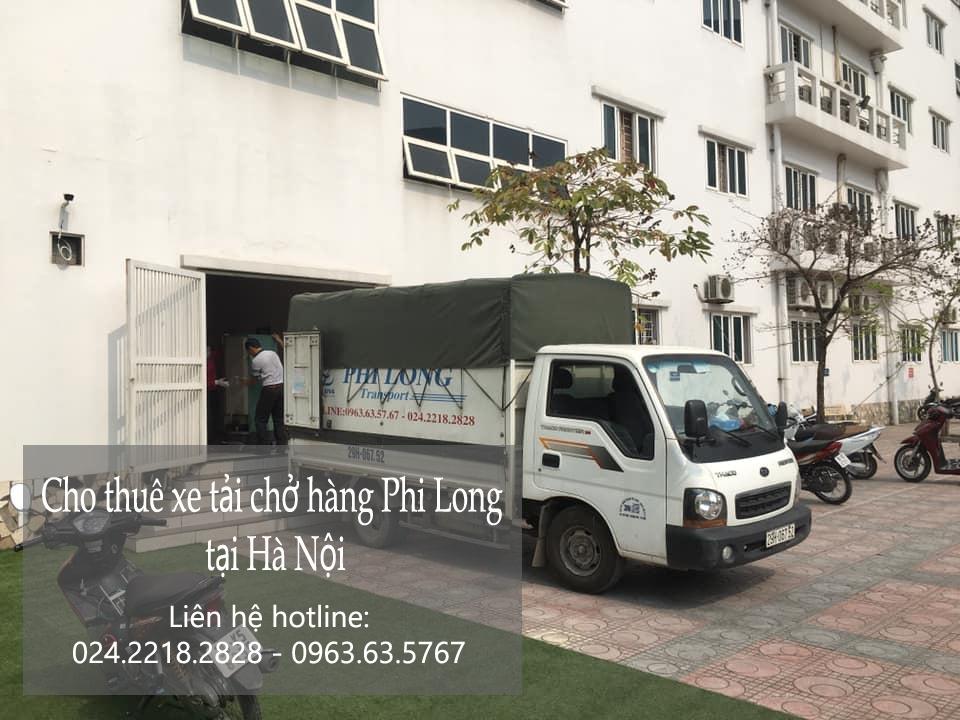 Dịch vụ taxi tải giá rẻ Phi Long tại phố Dương Đình Nghệ