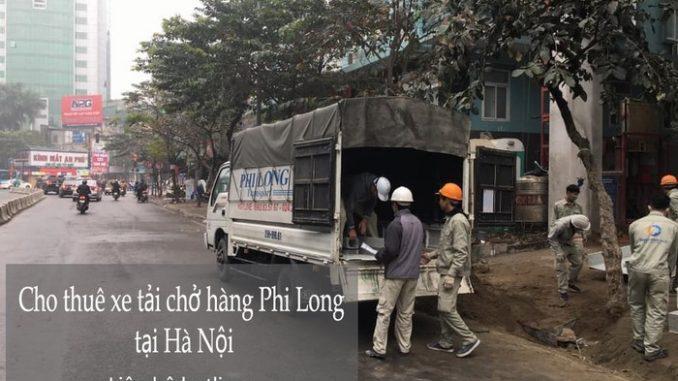 Dịch vụ taxi tải tại phường Thụy Khuê