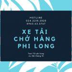 Taxi tải giá rẻ Phi Long tại phố Đông MỹTaxi tải giá rẻ Phi Long tại phố Đông Mỹ