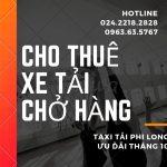 Dịch vụ giá rẻ taxi tải Phi Long tại phố Kim Giang