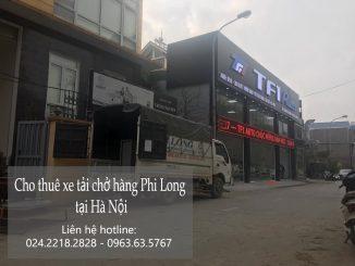 Hãng taxi tải giá rẻ Phi Long tại phố Đào Cam Mộc