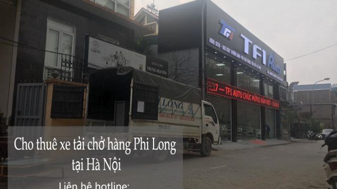Công ty taxi tải giá rẻ Phi Long tại phố Cao Lỗ
