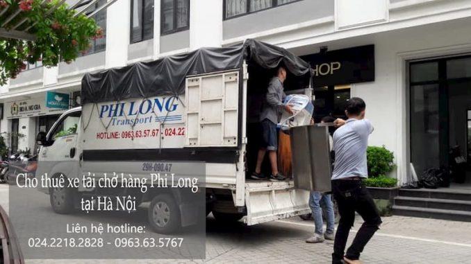 Hãng taxi tải giá rẻ Phi Long phố Hàng Than
