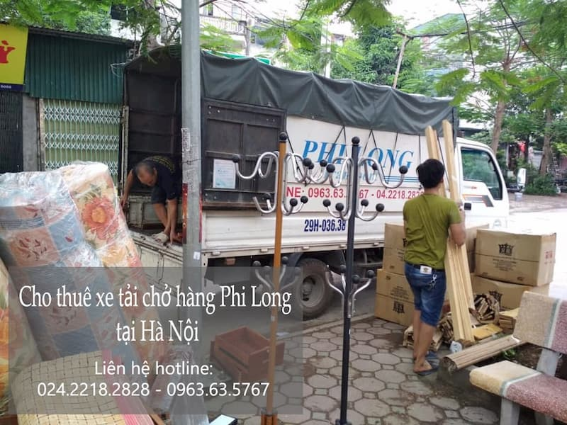 Hãng taxi tải chở hàng tết Phi Long phố Hàng Bún