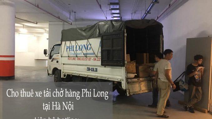Phi Long taxi tải giá rẻ tại phố Chu Văn An