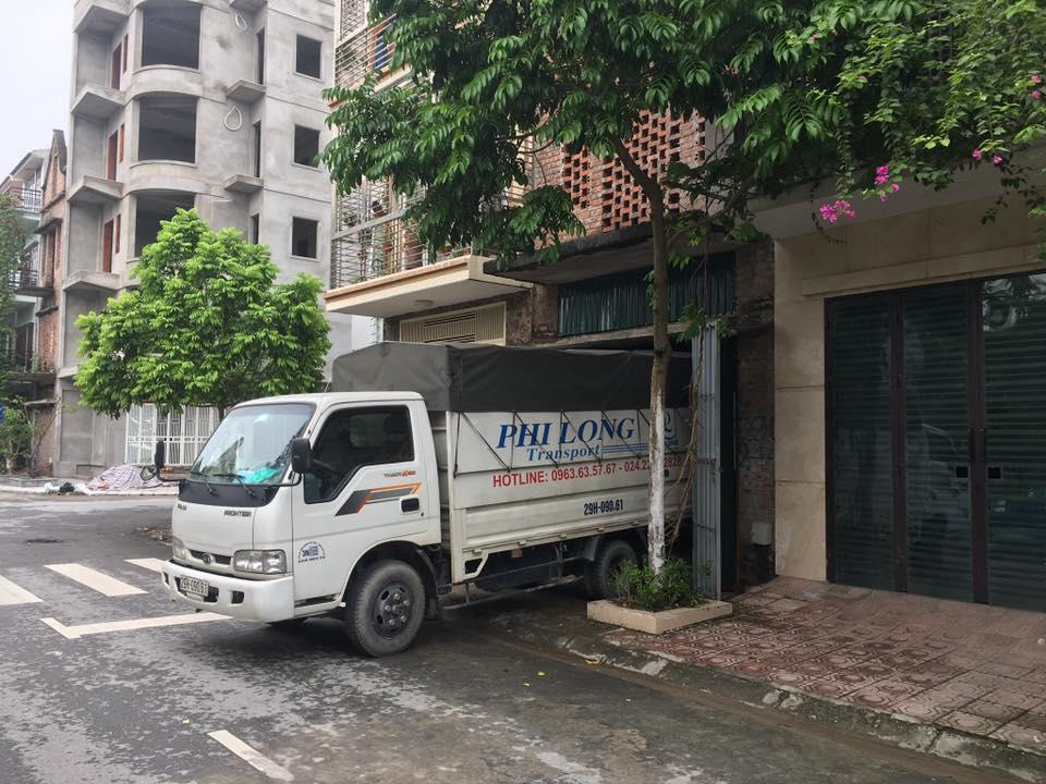 Dịch vụ cho thuê xe tải tại xã Vân Hà