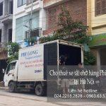 Taxi tải chở hàng tết Phi Long phố Lê Hồng Phong