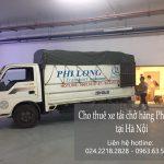 Dịch vụ taxi tải Phi Long tại quận Tây Hồ