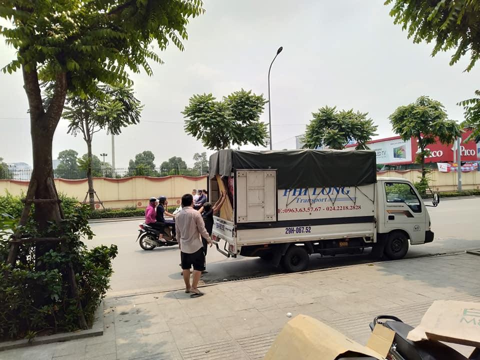 Dịch vụ taxi tải Phi long tại đường Ngô Gia Tự