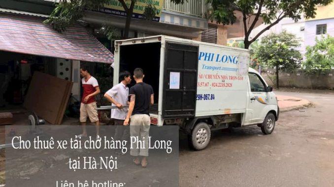 Dịch vụ taxi tải Phi Long tại đường Phan Đăng Lưu