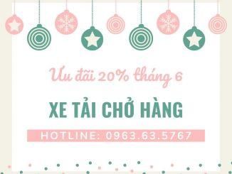 Taxi tải Phi Long tại xã Lê Lợi