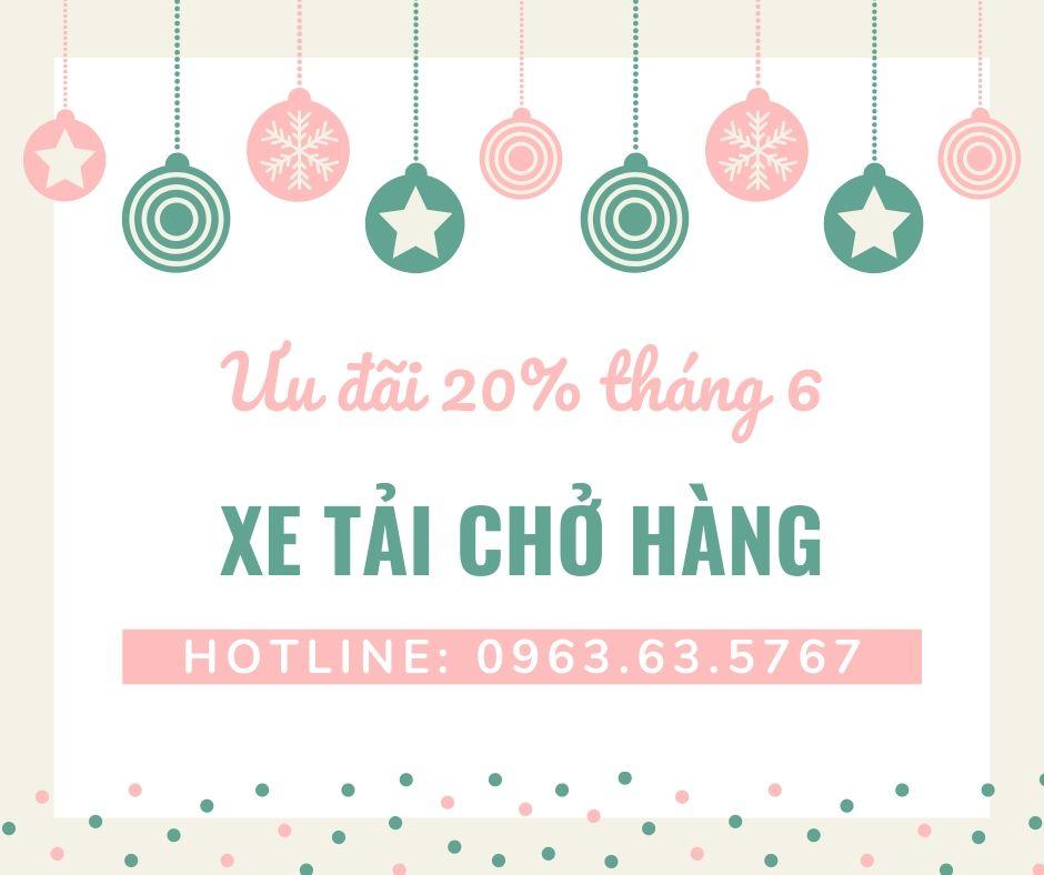 Dịch vụ taxi tải Phi Long tại xã Khánh Hà