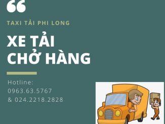 Dịch vụ taxi tải Phi Long tại xã Đại Thắng