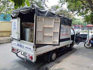 Xe tải chở hàng chất lượng Phi Long phố Hoàng Diệu