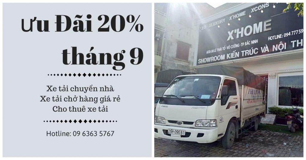 Dịch vụ taxi tải Phi Long tại xã Khai Thái